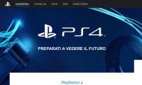 Il sito ufficiale PS4 è on-line