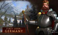 Federico Barbarossa alla guida della Germania in Civilization 6