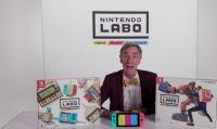 Bill Nye mostra le possibilità creative di Nintendo Labo