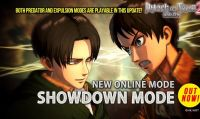 La modalità Showdown disponibile in Attack on Titan 2