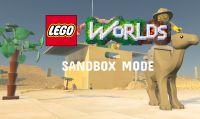 LEGO Worlds si arricchisce con la modalità sandbox