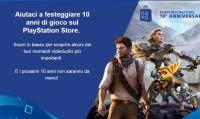 Sconti da capogiro offerti da Sony per festeggiare i 10 anni del PS Store