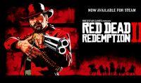 Red Dead Redemption 2 è ora disponibile su Steam