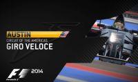 F1 2014 Austin - Giro veloce sul Circuito delle Americhe