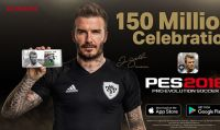 Konami celebra i 150 milioni di download di PES 2018 Mobile