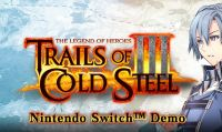 Annunciata la data d'uscita e la demo di Trails of Cold Steel III per Nintendo Switch