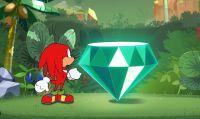 Knuckles è il protagonista del terzo episodio di Sonic Mania Adventures