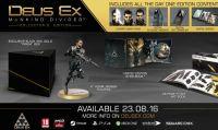 Deus Ex: Mankind Divided - Svelate le tre edizioni speciali