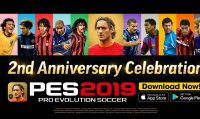 PES 2019 - Partono oggi i festeggiamenti del secondo anniversario di PES Mobile