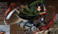 Attack on Titan - Confermato Levi: trailer e immagini