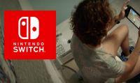 Con Nintendo Switch si gioca ovunque... anche in bagno