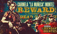 Red Dead Online - Carmela Montez, capo della banda Del Lobo, ricercata per una sanguinosa serie di rapine