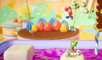 Nintendo mostra il gameplay co-op di Yoshi's Crafted World