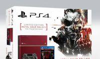 La PS4 in edizione MGSV: TPP arriva anche in Italia