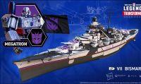 I Transformers prendono parte allo scontro in World of Warships