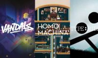 ARTE debutta con tre Nindies su Nintendo Switch: Homo Machina, Type:Rider e Vandals