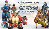 Overwatch gratuito per il weekend del 17 novembre
