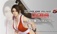 Mai Shiranui si aggiunge al roster di DoA: Last Round
