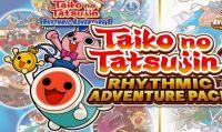 Taiko No Tatsujin Rhythmic Adventure Pack è ora disponibile