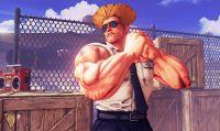 Guile è pronto a combattere in Street Fighter V