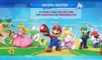 Trapelano info e immagini su Mario + Rabbids Kingdom Battle