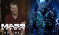 Mass Effect: Andromeda - Dietro le quinte con il doppiatore dell'Arconte