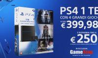 GameStop propone un ottimo bundle con PS4 e quattro giochi