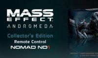 Mass Effect: Andromeda – Arrivano due edizioni Deluxe e tre modellini