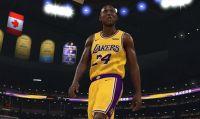 NBA 2K20 - Una schermata di caricamento rende omaggio a Kobe Bryant