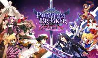 Annunciato il gioco di combattimento anime in 2D Phantom Breaker Omnia