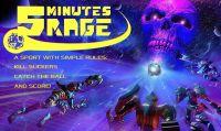 5 Minutes Rage esce su Steam il 2 marzo, weekend free per celebrare il lancio