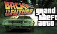 Ritorno al Futuro riprodotto su GTA V