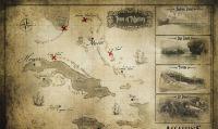 La mappa di Assassins Creed IV Black Flag