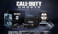 Call of Duty: Ghosts regala 500 Prestige Edition