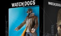 La statuina di Aiden Pearce, protagonista di Watch Dogs