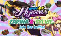 Zarina e Sylvie uniscono Shock e Samba in SNK HEROINES!