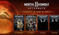 Mortal Kombat 11: Aftermath - Ecco le nuove skin dei personaggi