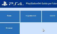 Manuale PS4 completo in italiano