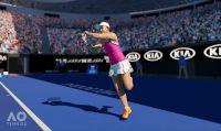 Rilasciati nuovi dettagli sulla personalizzazione di AO Tennis 2