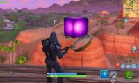 Fortnite - Compare un misterioso gigantesco Cubo Viola