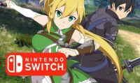 Svelata la data di lancio di Sword Art Online: Hollow Realization su Switch