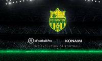 Konami annuncia che il Nantes prenderà parte al torneo eSport di eFootball.Pro