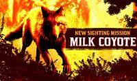 Red Dead Online - Il leggendario Milk Coyote vaga nei pressi di Blackwater