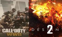Destiny 2 e CoD: WWII sono i giochi più venduti nel Nord America