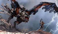 Los Angeles si veste per l'E3 - Un mega poster di Horizon: Zero Dawn