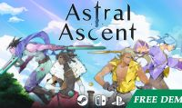 Astral Ascent viene lanciato su Kickstarter