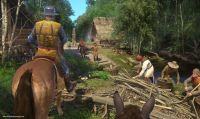Kingdom Come Deliverance - La patch day one avrà un peso di circa 23GB