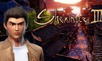 La campagna Kickstarter di Shenmue III prosegue a gonfie vele