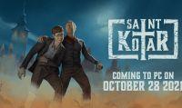 Saint Kotar sarà disponibile dal 28 ottobre
