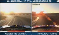 Video confronto tra Assetto Corsa e Project CARS